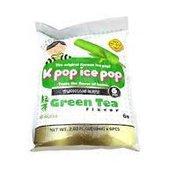 Fuda K Pop Green Tea Flavor Ice Bar
