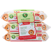 Comforts Baby Wipes, Fragrance-Free