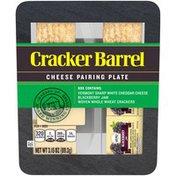 Cracker Barrel Vermont Sharp White Cheddar Cheese Pairing Plate
