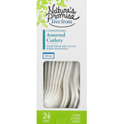 Nature's Promise Compostable Assorted Cutlery