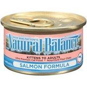 Natural Balance Salmon Formula Cat Food