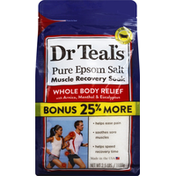 Dr. Teal's Epsom Salt, Pure, Whole Body Relief