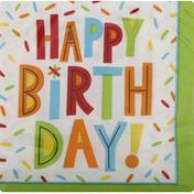 Celebrations Napkins, Birthday Fun, 2 Ply