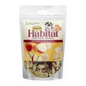 Higgins Habitat Natural Snack Apples & Bananas Rabbit Treats