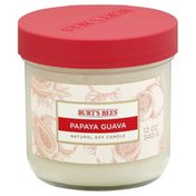 Burt's Bees Candle, Natural Soy, Papaya Guava