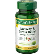 Nature's Bounty Anxiety & Stress Relief, Tablets