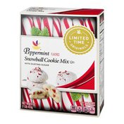 Ahold Snowball Cookie Mix Peppermint