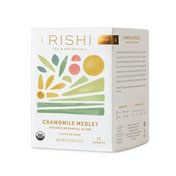 Rishi Tea Tea, Organic, Caffeine-Free, Chamomile Medley, Sachets