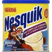 Nestle Nesquik Vanilla Flavor