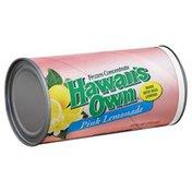 Hawaiis Own Frozen Concentrate, Pink Lemonade