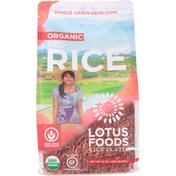 Lotus Foods Rice, Organic, Red