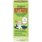 Boudreaux's Butt Paste All Natural Butt Paste Diaper Rash Ointment