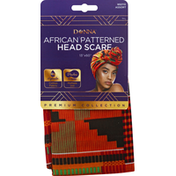 Donna Head Scarf, African Patterned