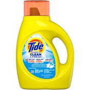 Tide Simply Clean & Fresh Liquid Laundry Detergent, Refreshing Breeze, 25 loads