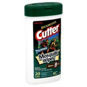 Cutter Mosquito Wipes, Unscented