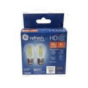 General Electric 40 Watt DI A15 Clear Ca Refresh LED Light Bulb