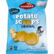 Haddar Potato Scoops, Gluten Free, Original