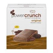 Power Crunch Protein Energy Bar Originial Mocha Creme - 12 CT