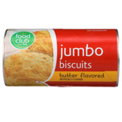 Food Club Butter Flavored Jumbo Biscuits