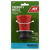 Ace Nozzle, Fireman's, Medium Duty