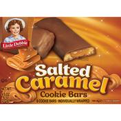 Little Debbie Cookie Bars, Salted Caramel, 8 Pack