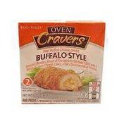 Koch Foods Oven Cravers Raw Stuffed Chicken Breast Buffalo Style