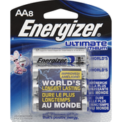 Energizer Batteries, Ultimate Lithium, AA