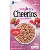 Cheerios Very Berry , Gluten Free, Breakfast Cereal
