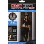Magic Mesh Screen Door, Hands-Free, Deluxe