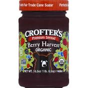 Crofter's Spread, Premium, Organic, Berry Harvest