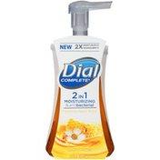 Dial Complete 2 in 1 Moisturizing & Antibacterial Foaming Hand Wash, Manuka Honey