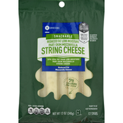 Southeastern Grocers String Cheese, Reduced Fat, Part-Skim, Mozzarella, Low-Moisture