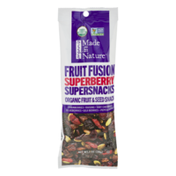 Made in Nature Organic Fruit & Seed Supersnacks Fruit Fusion Superberry