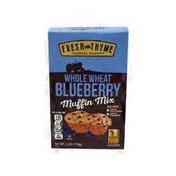 Fresh Thyme Whole Wheat Wild Blueberry Muffin Mix
