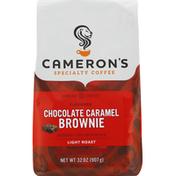 Camerons Coffee, Ground, Light Roast, Chocolate Caramel Brownie