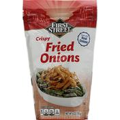 First Street Onions, Crispy Fried