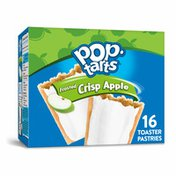 Kellogg's Pop-Tarts Toaster Pastries, Breakfast Foods, Baked in the USA, Frosted Crisp Apple
