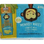 Sir Bananas Milk, Lowfat, Real Bananas