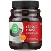 Food Club 100% Pure Classic Roast Instant Coffee