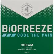 Biofreeze Cream, Pain Relief, Menthol