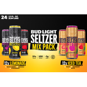 Bud Light Seltzer, Iced Tea & Lemonade Hard Seltzer Variety Pack