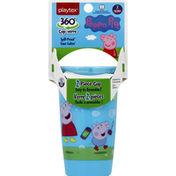 Playtex Cup, Peppa Pig, 360 Degrees, Stage 2 (12 Months+), 10 Ounce