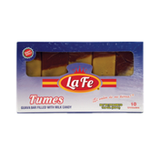 La Fe Tumes, Guava Bar filled with Milk Candy