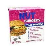 Carla Lee's Thai Coconut Nut Burger