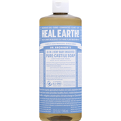 Dr. Bronner's Pure-Castile Soap, 18-in-1, Hemp, Baby, Unscented