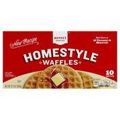 Market Pantry Waffles, Homestyle