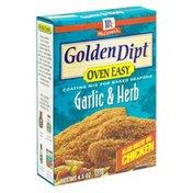 Golden Dipt Coating Mix for Baked Seafood, Garlic & Herb
