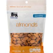 Food Lion Almonds, Natural