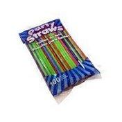 Good Living Neon Flex Plastic Party Straws