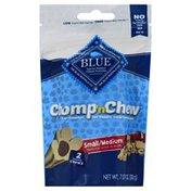 Blue Treats for Dogs, Meaty Chews, Small/Medium